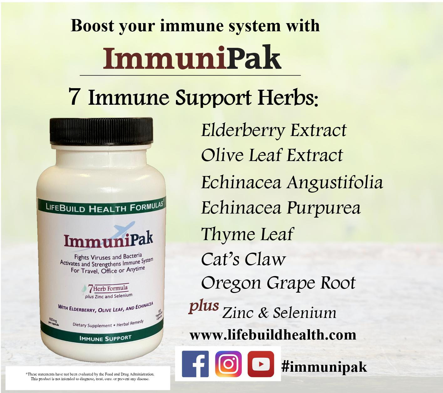 Boost Your Immune System with ImmuniPak